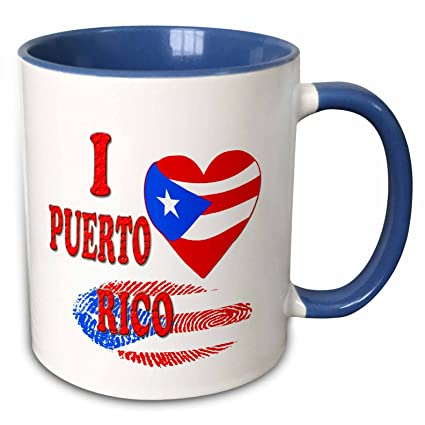Amazon.com: 3dRose RinaPiro - Quotes - I love Puerto Rico ...