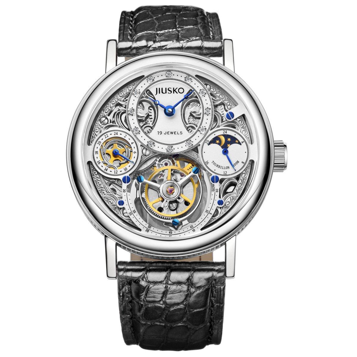 JIUSKO 153LS0102 - Reloj para hombres color negro: JIUSKO: Amazon.es: Relojes