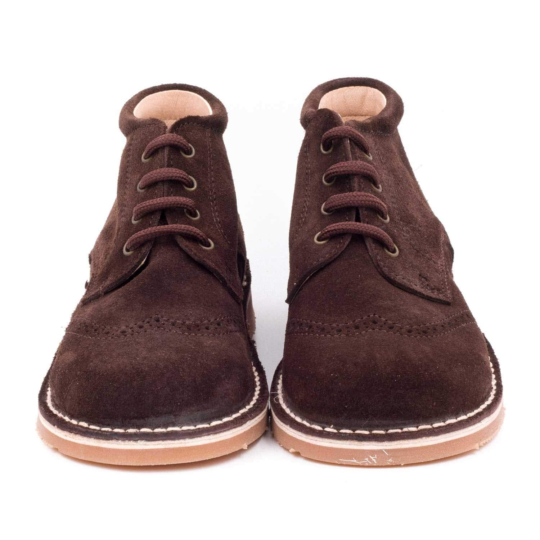Boni Jean Chaussures Gar/çon Cuir Lacet