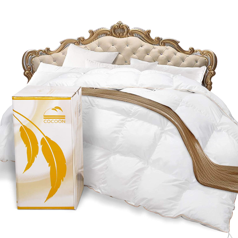 Cocoon Premium Siberian Goose Down Comforter