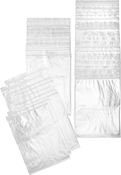 """Clear Flat Polyethylene Poly Plastic Bags 4/"""" x 8/"""" 100 pc 2 Mil FREE SHIPPING"""