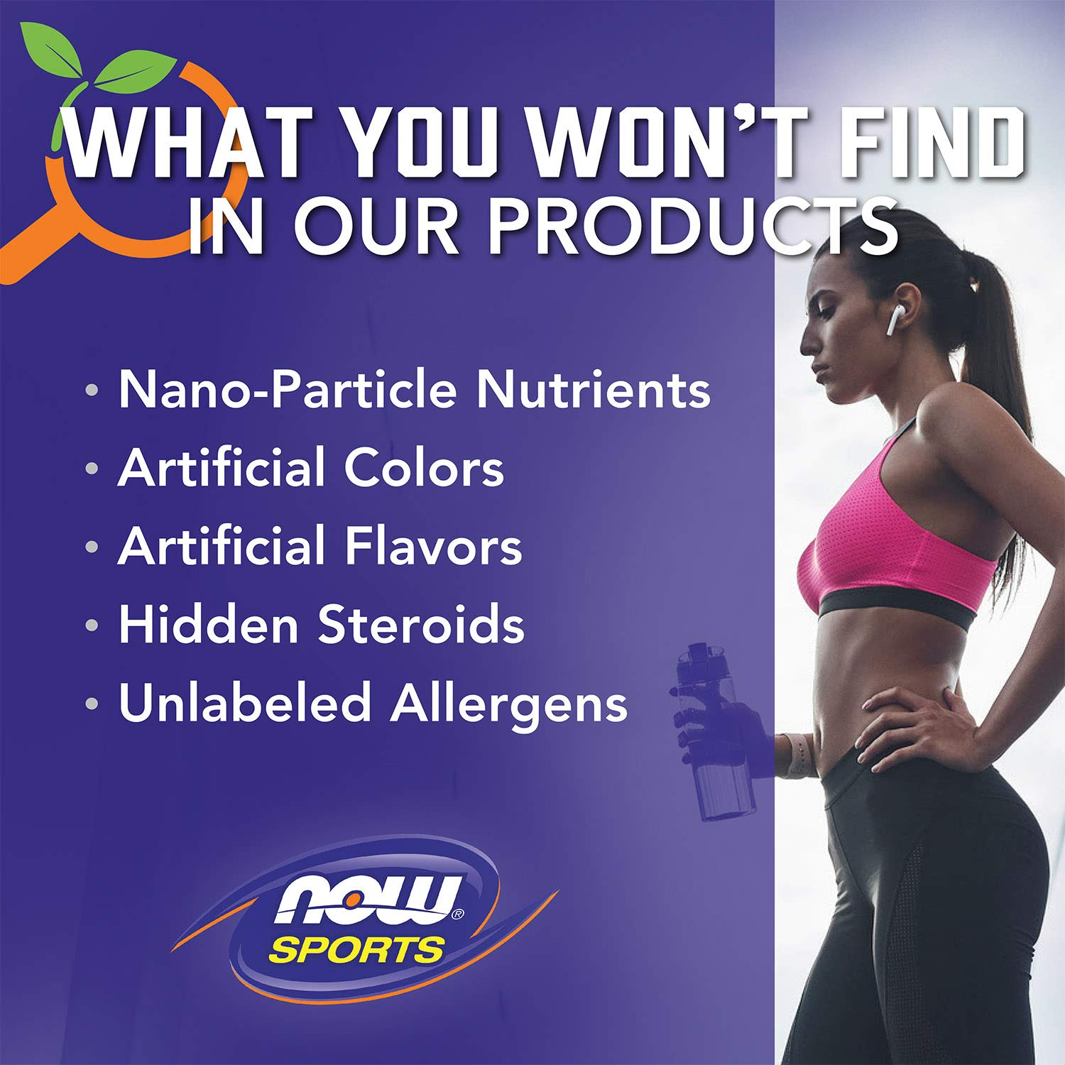 NOW Sports Nutrition, Soy Protein Isolate Powder, Unflavored, 2-Pound by Now Sports (Image #9)