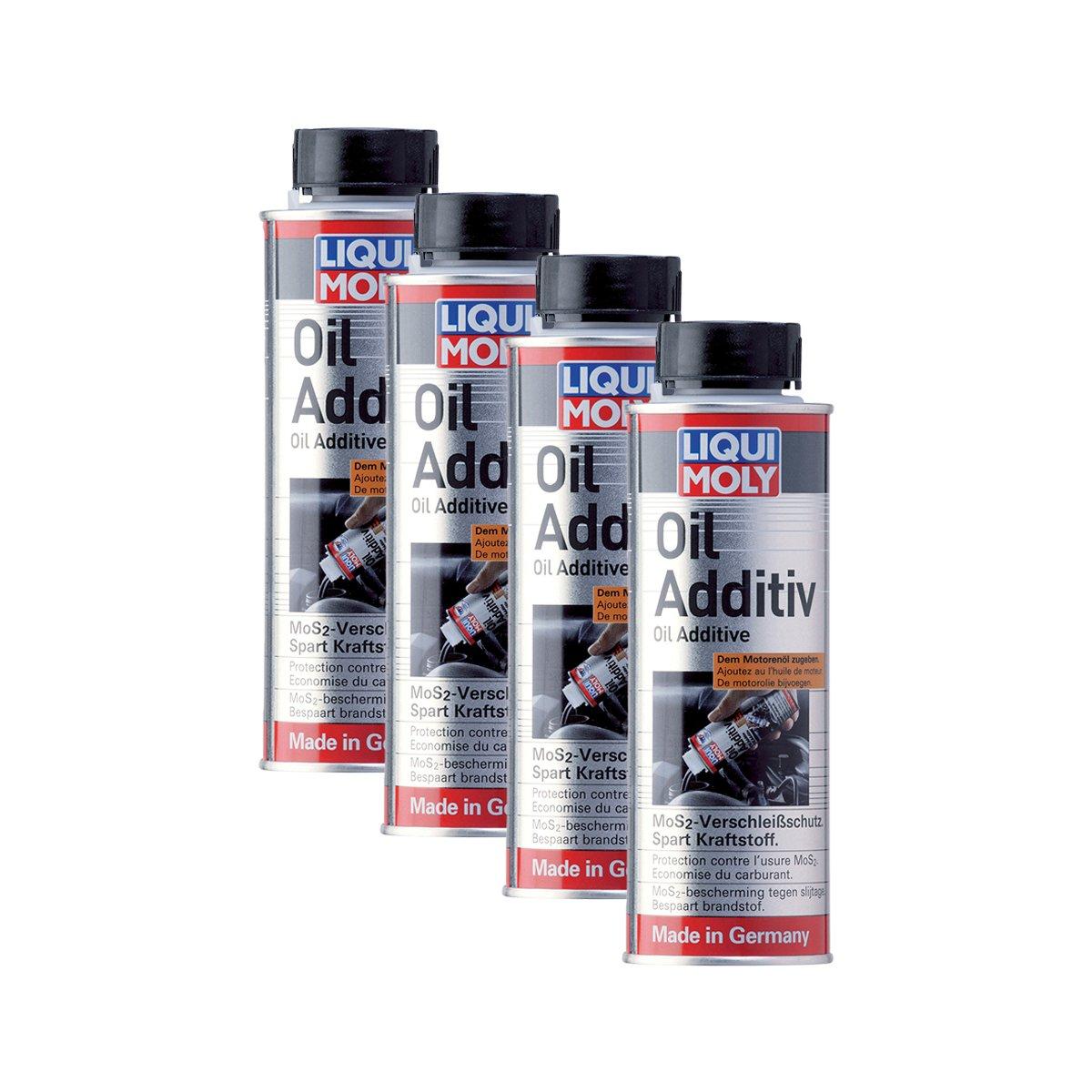 4 x Liqui Moly 1012 Oil additiv aceite adicional MoS2 verschl Hielo - Aceite de additiv 200: Amazon.es: Coche y moto