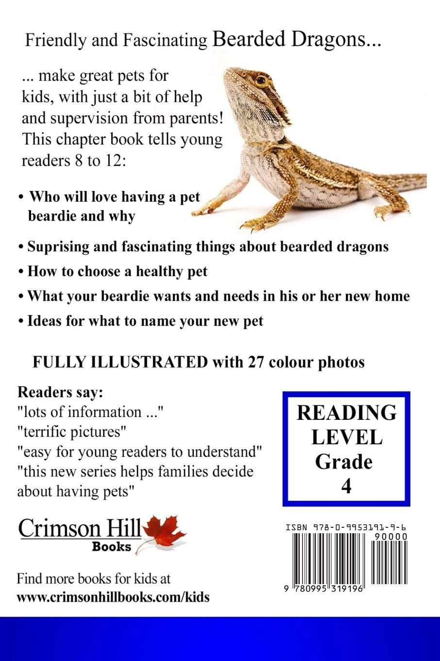 I Want A Bearded Dragon: Best Pets For Kids Book 2 (Volume 2