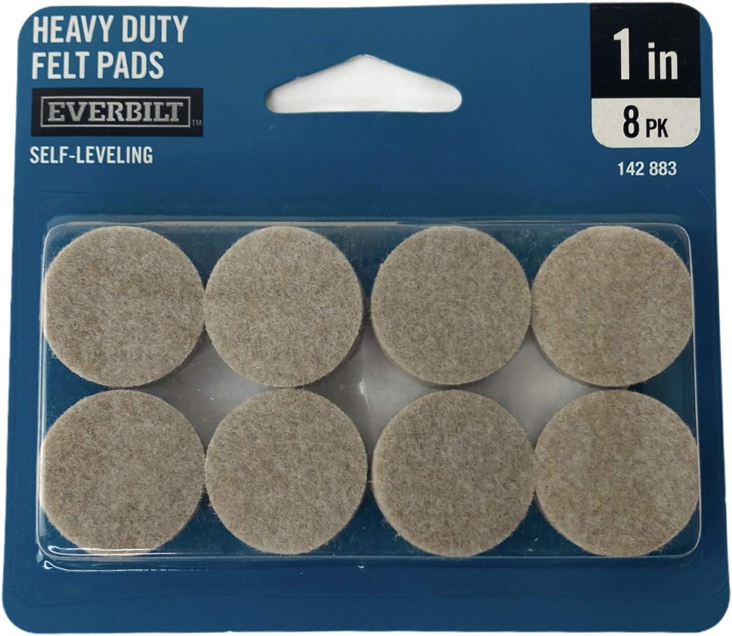 "Heavy Duty Felt Pads Surface Savers 8pc//pck Details about  /Lot Of 4 Packs Ace 54479 1-1//2/"""