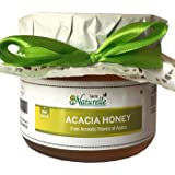 Farm Naturelle Raw Natural Unprocessed Acacia Forest Flowers Honey, 400g