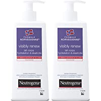 Neutrogena Visibly Renew Lait Corps Elasticité Pompe 250 ml - Lot de 2