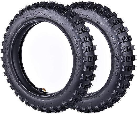 Pro Caken - Juego de 2 juegos de neumáticos para mini bicicleta de ...