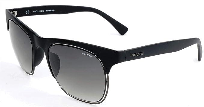 Police Sonnenbrille SPL160M Gafas de sol, Negro (Schwarz), 51.0 para Hombre