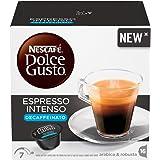 NESCAFE' DOLCE GUSTO Espresso Intenso Decaffeinato, 16 Capsule