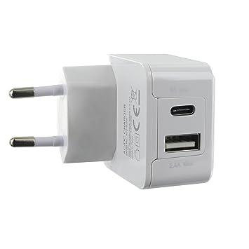 Bigben Connected Cargador con cable USB C/USB C: Amazon.es ...