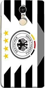 ColorKing Football Germany 18 White shell case cover for Xiaomi Redmi Note 4
