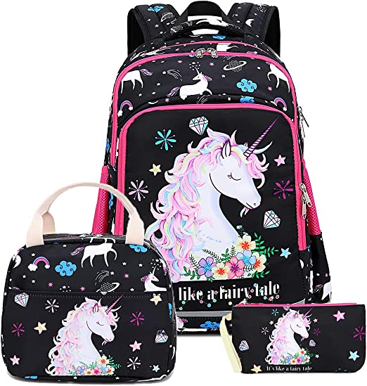 Fairy Tail Comic Kids Boys Backpack School Bag Insulated Lunch Bag Pen Case Lot