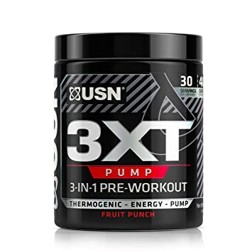 amazon com usn 3xt pump pre thermo fruit punch health personal care