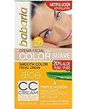 Babaria - CC Cream Triple Acción - Crema facial con color suave SPF20 - 50 ml