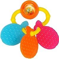 Funskool Orange Teether Rattle