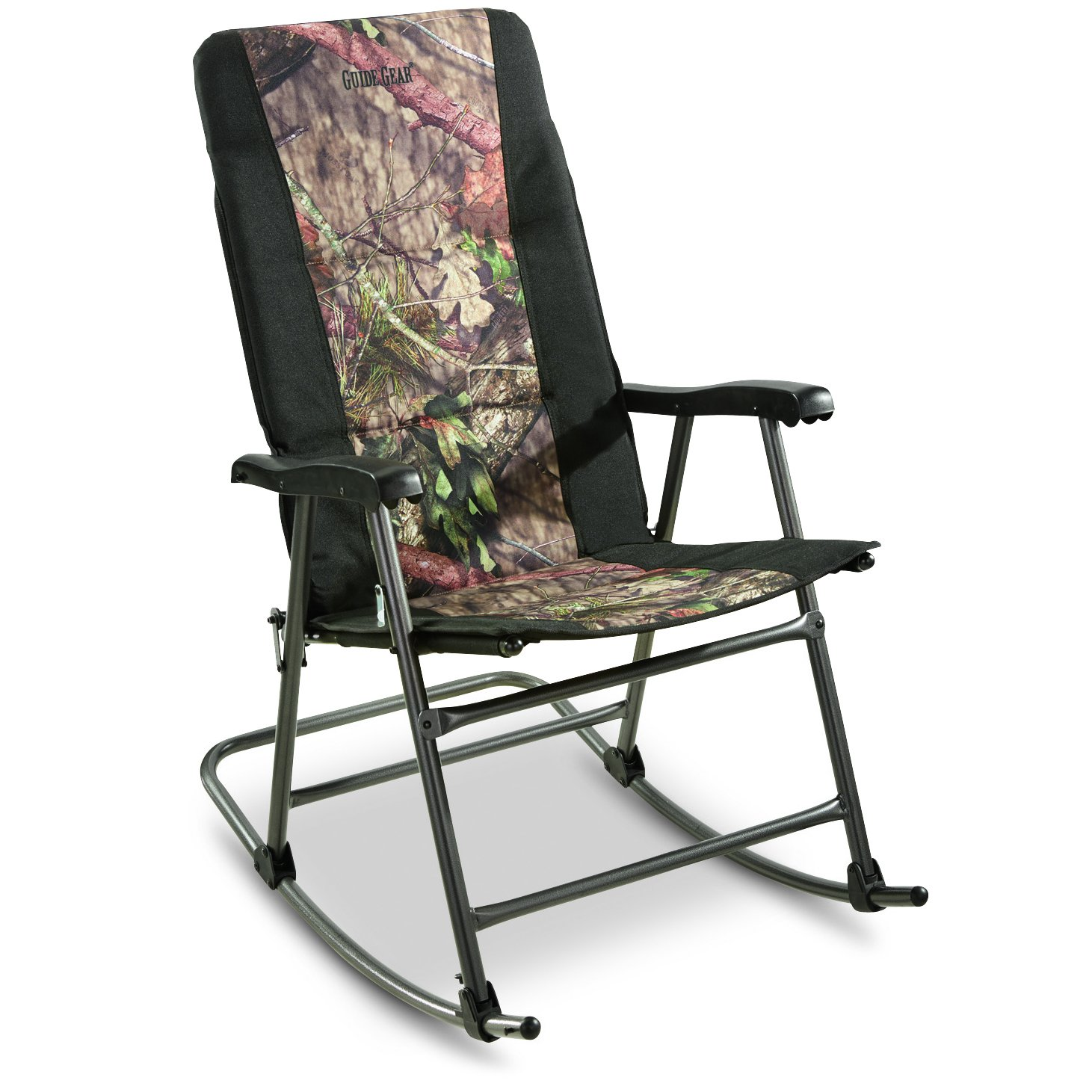 Ordinaire Amazon.com : Guide Gear Oversized Rocking Camp Chair, 500 Lb. Capacity,  Mossy Oak Break Up Country : Sports U0026 Outdoors