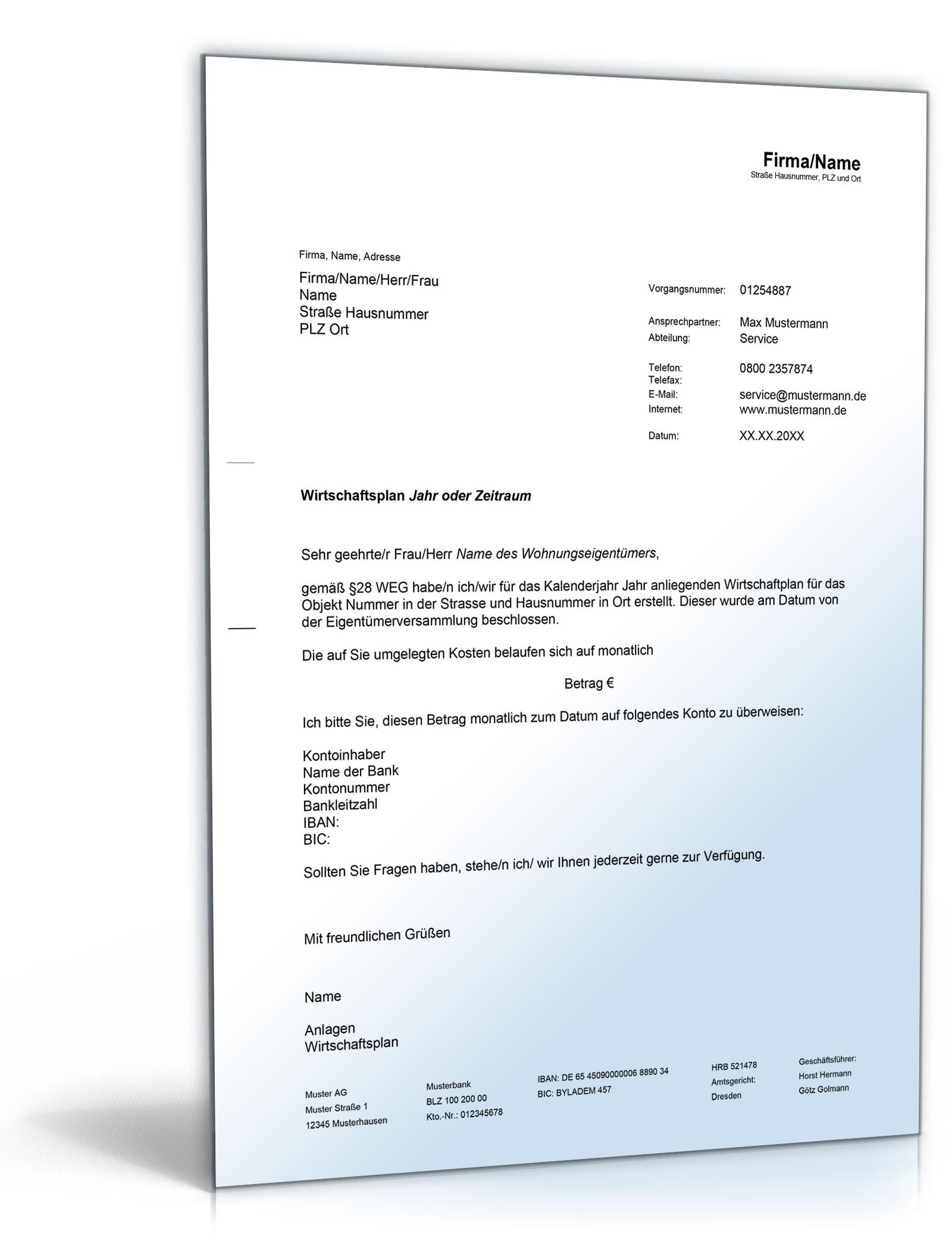 Wirtschaftsplan Word Dokument Amazonde Software