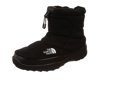 [ザ・ノース・フェイス] ブーツ Nuptse Bootie Wool IIIShort ネイビー×ブラック US 8(26 cm)