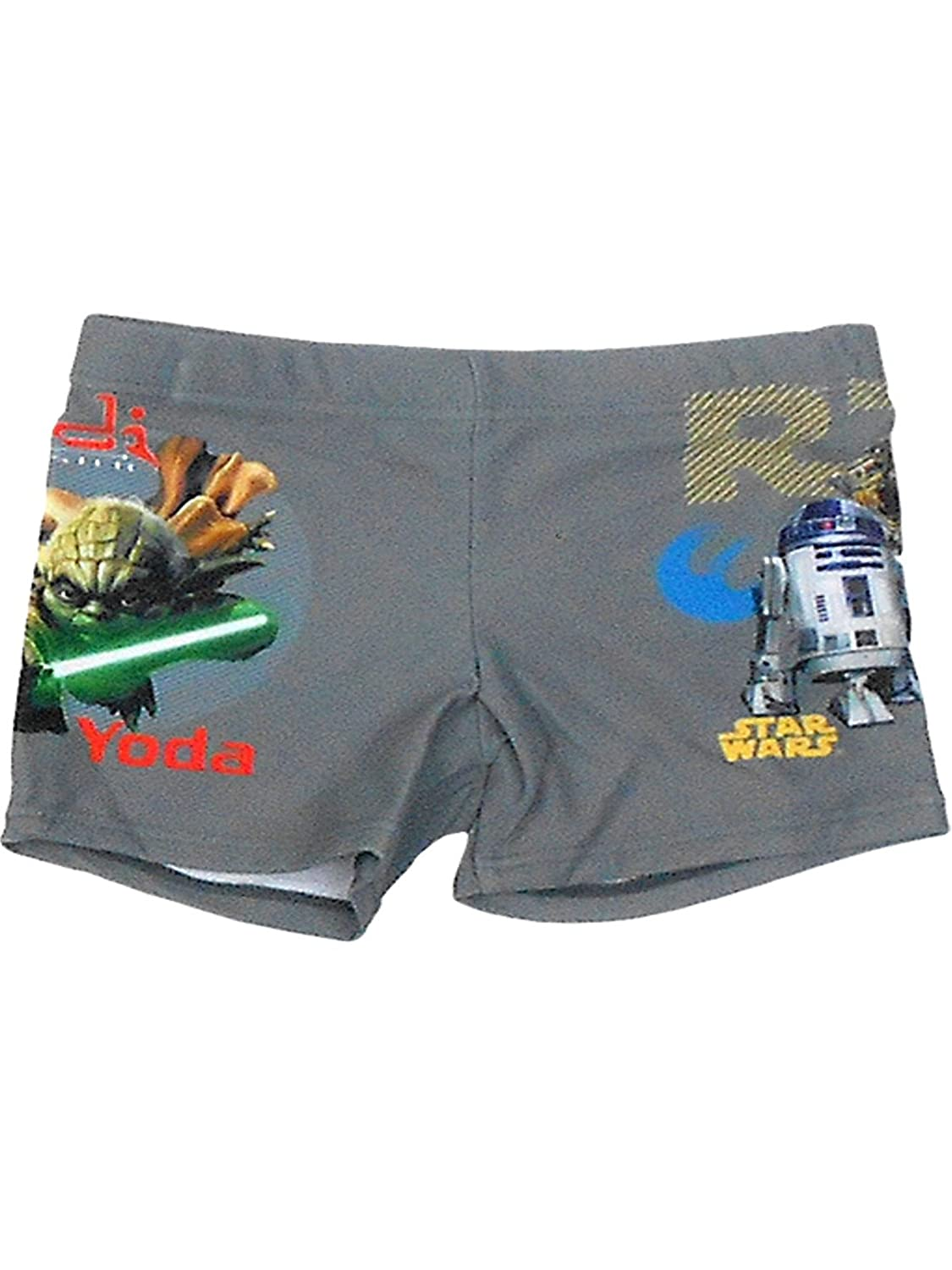 Boys Official Star Wars Swimwear Swimming Shorts Age 2 to 8 Years