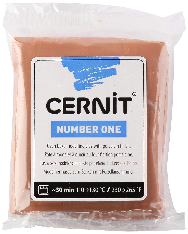 BROWN CERNIT 1-Piece Clay CERNIT N1 56 G BROWN
