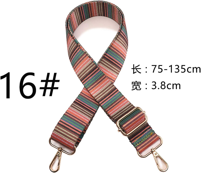 Female bag belt accessories ribbon worn one shoulder strap backpack belt bag wide shoulder bag belt can be adjusted