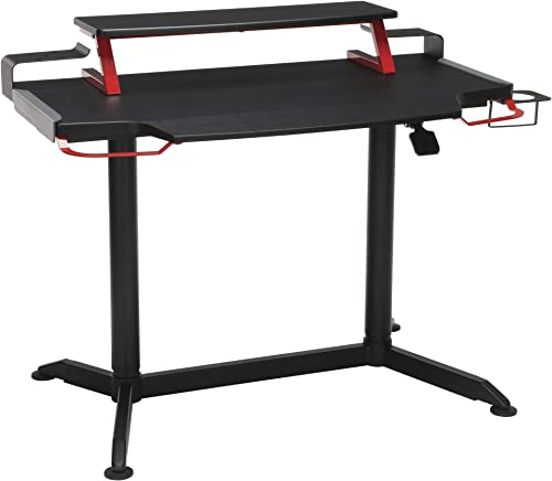 RESPAWN 3000 Computer Ergonomic Height Adjustable Gaming Desk