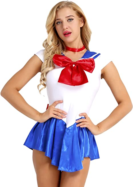 Alvivi Sailor Moon Rei Kino Mars Serena - Disfraz de Cosplay para ...