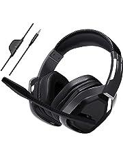AmazonBasics - Auriculares de «gaming» avanzado - Negro
