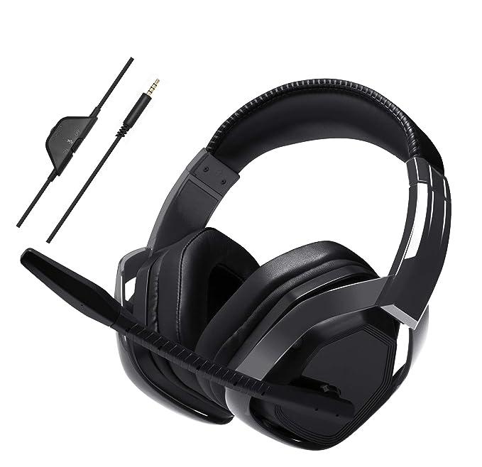 AmazonBasics - Auriculares de «gaming» avanzado - Negro ...
