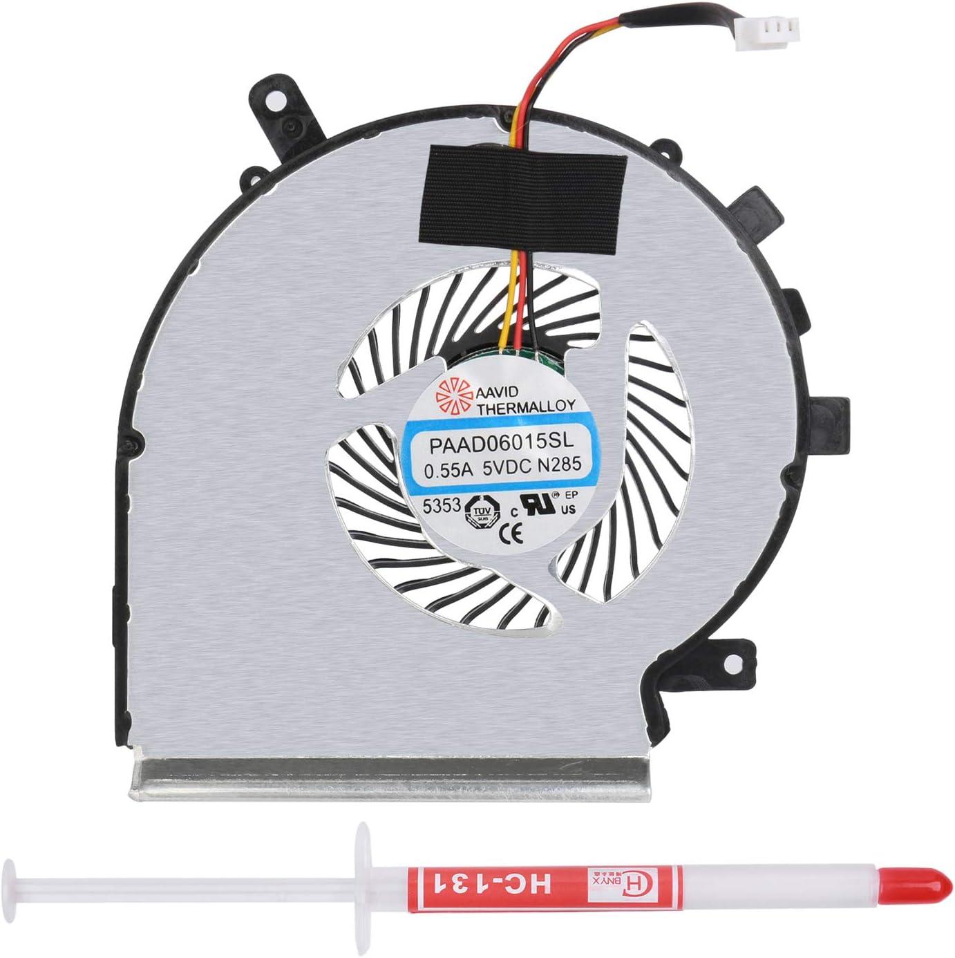 3/CTOP CPU-K/ühler L/üfter f/ür MSI ge62/ge72/pe60/pe70/GL62/paad06015sl 3/Pin