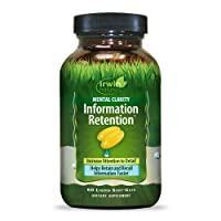 Irwin Naturals Mental Clarity Information Retention - Enhance Attention, Retain...