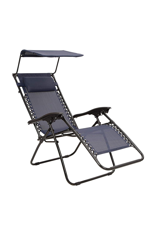 Mountain Warehouse Ruhesessel mit Sonnenschutz - leichte Terrassenmöbel, strapazierfähig, abwischbarer Gartensitz - ideal für Garten, Terrasse, Picknick, Camping B07PRMRGZ4 | Hohe Qualität und günstig