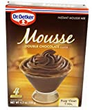 Dr Oetker Double Chocolate Mousse, 4.2-Ounce (Pack of 6)