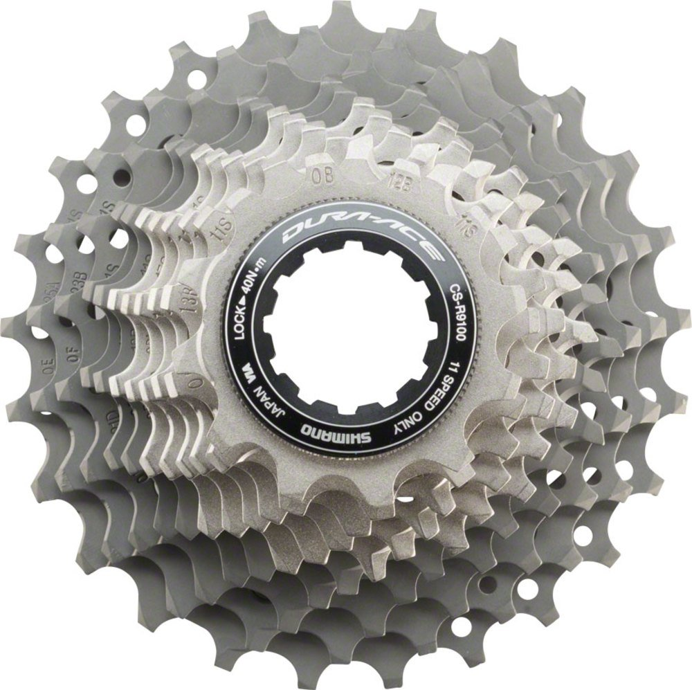 SHIMANO Dura-Ace CS-R9100 11-Speed Cassette One Color, 12-25 by SHIMANO