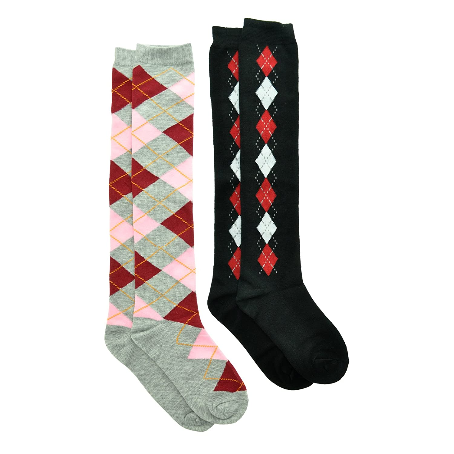 Vintage Socks | 1920s, 1930s, 1940s, 1950s, 1960s History Angelina KNEE HIGH Socks Single-Pair Two-Pair Six-Pair or Dozen Value-Pack $11.99 AT vintagedancer.com