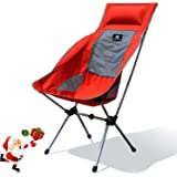 Moon Lence Compact Ultralight Portable Folding Camping Backpacking&Bag Chair with Carry Bag