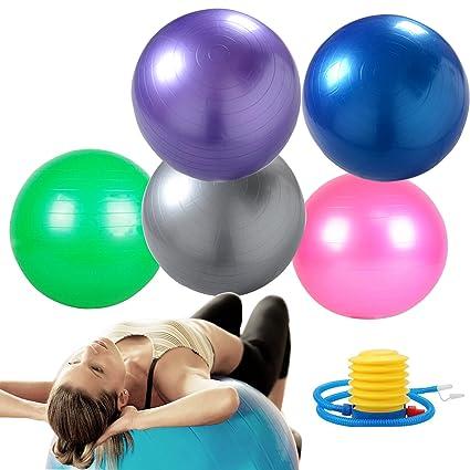 suyi balón de Gimnasia y Fitness, Yoga o balón de Ejercicios ...
