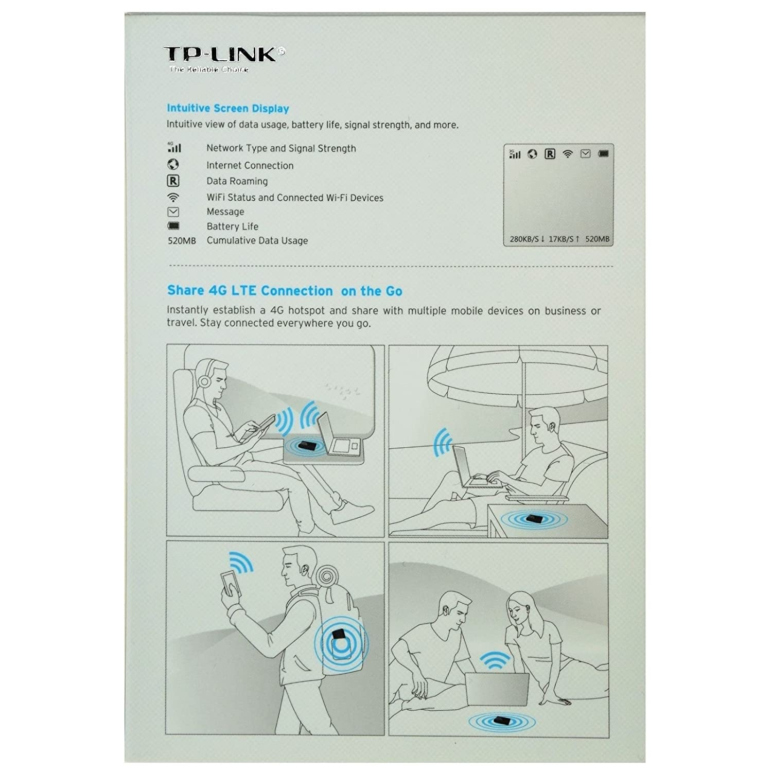 Tp Link M7350 Lte Advanced Mobile Wi Fi 150 Mbps Access Point Wiring Diagram Computers Accessories