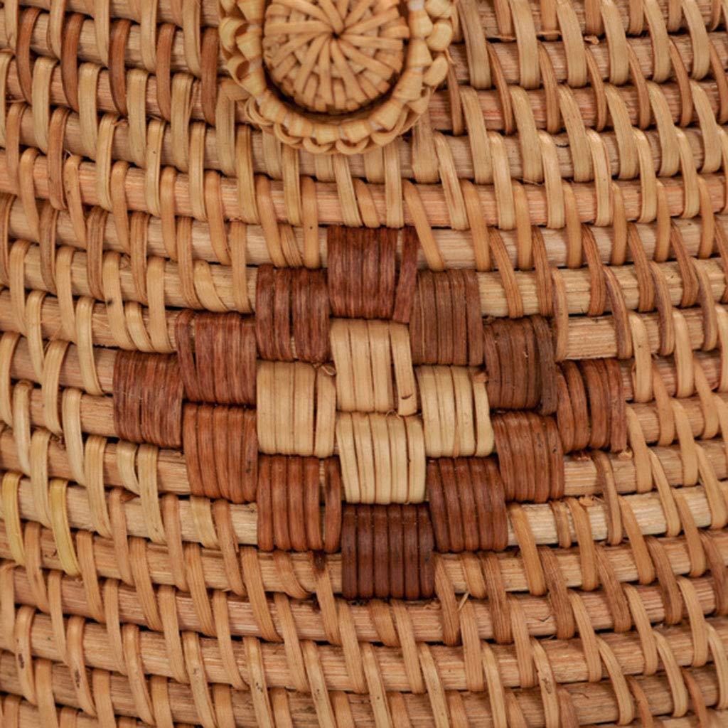 Women's Bag, Fashion Bag - Summer Women's Bag - Hand-Woven Rattan Bag - Crossbody Beach Bag by BHM (Image #7)