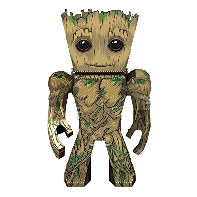 Fascinations Metal Earth Marvel Guardians of The Galaxy Groot 3D Metal Model Kit: Toys & Games