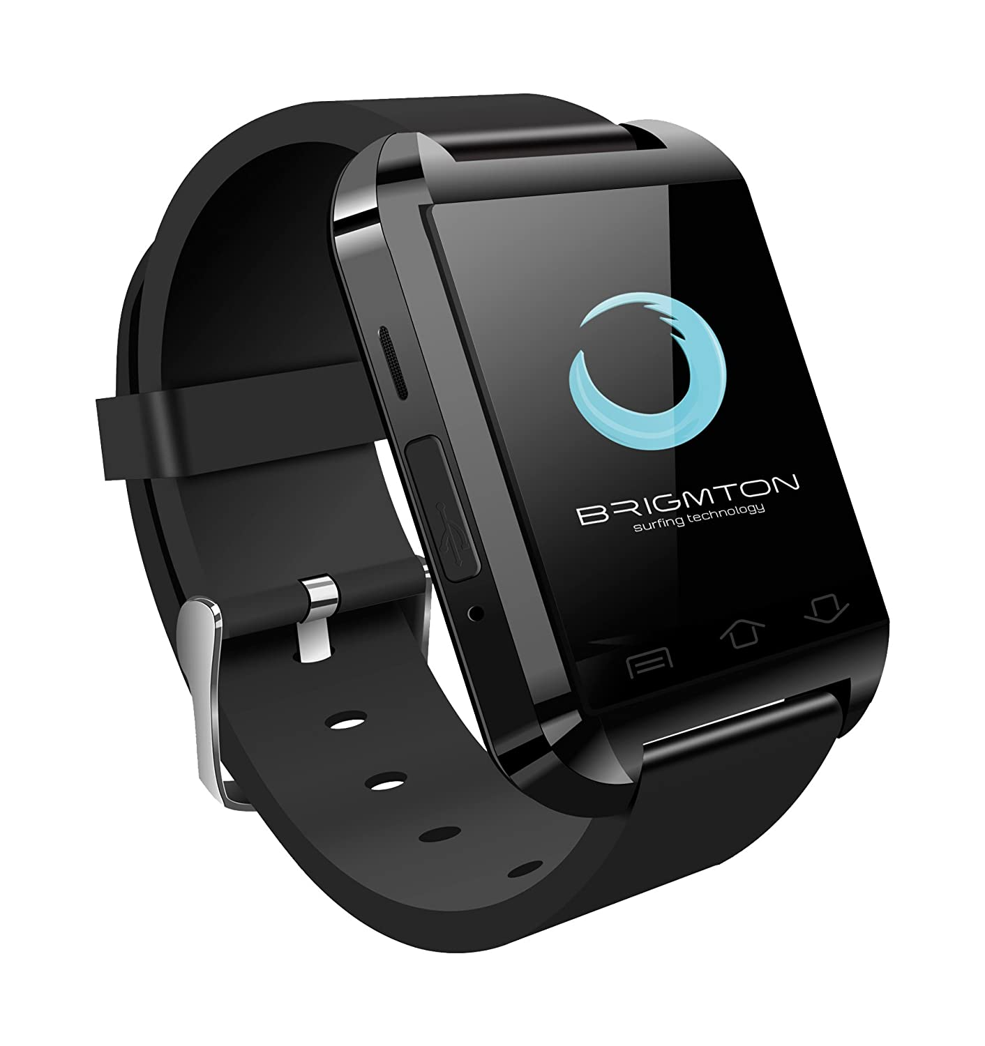 Brigmton BWATCH-BT2N - Smartwatch (1.44