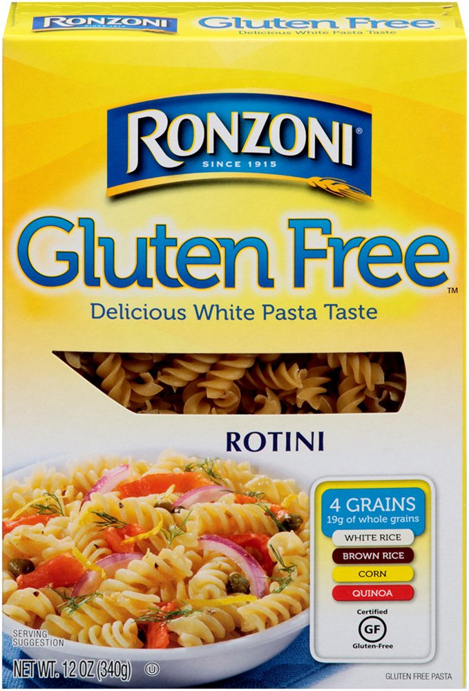 Ronzoni Gluten Free Rotini, 12-Ounce (Pack of 12) by Ronzoni