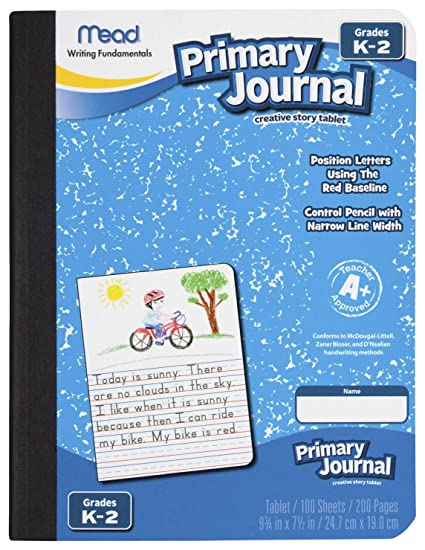 6a22ea650458 Amazon.com   Mead MEA09956 Primary Journal K-2nd Grade   Drawing ...