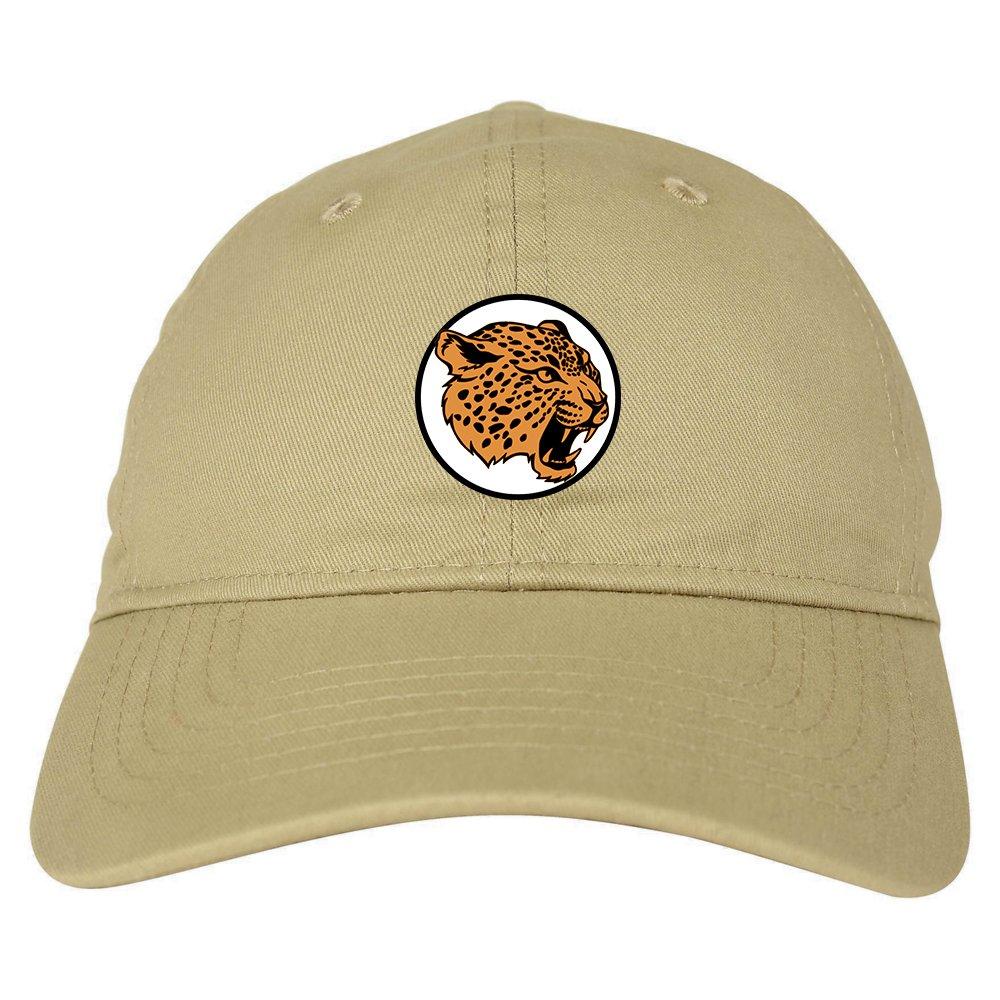 4b5014bc Kings Of NY Jaguar Print Mens Dad Hat Baseball Cap Beige at Amazon ...
