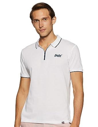 Superdry City Sport Zip Polo Shirt Hombre: Amazon.es: Ropa y ...