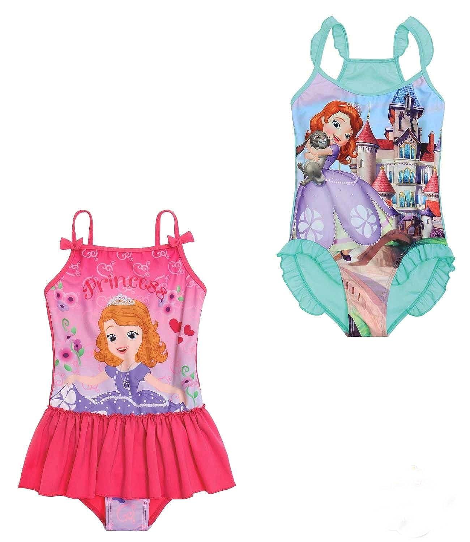 große Vielfalt Stile billig zu verkaufen Gutscheincodes Disney Sofia die Erste Mädchen Badeanzug 116 türkis fersoft.es