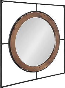 Kate and Laurel Barkley Modern Farmhouse Wall Mirror, 30