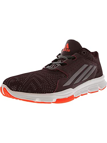huge selection of bd35b 2ea59 adidas Mens Gameday Trainers 8 US MaroonVista GreySolar Red (Red