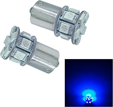 PA 2 x 30 SMD 5050 LED Tail Stop Light Bulbs 3156 3057 3157 12V-Green Per-Accurate Inc.